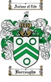 Thumbnail Burroughs Family Crest  Burroughs Coat of Arms