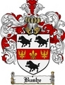 Thumbnail Bushe Family Crest Bushe Coat of Arms Digital Download