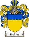 Thumbnail Butlers Family Crest  Butlers Coat of Arms