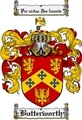 Thumbnail Butterworth Family Crest Butterworth Coat of Arms Digital Download