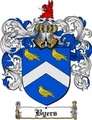 Thumbnail Byers Family Crest  Byers Coat of Arms