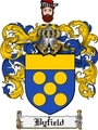 Thumbnail Byfield Family Crest Byfield Coat of Arms Digital Download