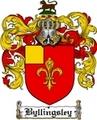Thumbnail Byllingsley Family Crest  Byllingsley Coat of Arms