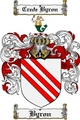 Thumbnail Byron Family Crest Byron Coat of Arms Digital Download