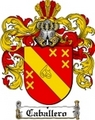 Thumbnail Caballero Family Crest  Caballero Coat of Arms