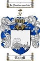 Thumbnail Cahell Family Crest  Cahell Coat of Arms