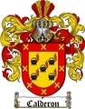 Thumbnail Calderon Family Crest  Calderon Coat of Arms