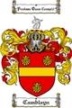 Thumbnail Camblayn Family Crest  Camblayn Coat of Arms