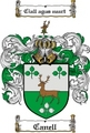Thumbnail Canell Family Crest  Canell Coat of Arms