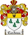 Thumbnail Cardona Family Crest  Cardona Coat of Arms