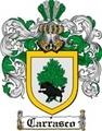 Thumbnail Carrasco Family Crest  Carrasco Coat of Arms