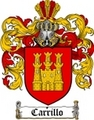 Thumbnail Carrillo Family Crest  Carrillo Coat of Arms