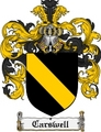 Thumbnail Carswell Family Crest Carswell Coat of Arms Digital Download