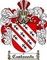 Thumbnail Castaneda Family Crest  Castaneda Coat of Arms