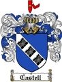 Thumbnail Castell Family Crest  Castell Coat of Arms