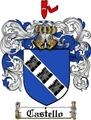 Thumbnail Castello Family Crest  Castello Coat of Arms