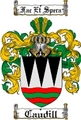 Thumbnail Caudill Family Crest  Caudill Coat of Arms