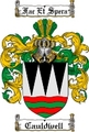 Thumbnail Cauldwell Family Crest  Cauldwell Coat of Arms
