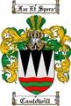Thumbnail Cauldwill Family Crest  Cauldwill Coat of Arms