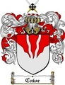 Thumbnail Cawe Family Crest  Cawe Coat of Arms