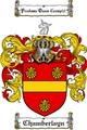 Thumbnail Chamberlayn Family Crest  Chamberlayn Coat of Arms