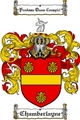 Thumbnail Chamberlayne Family Crest  Chamberlayne Coat of Arms