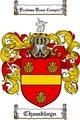 Thumbnail Chamblayn Family Crest Chamblayn Coat of Arms Digital Download