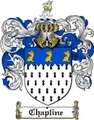 Thumbnail Chapline Family Crest  Chapline Coat of Arms