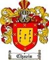 Thumbnail Chavis Family Crest  Chavis Coat of Arms