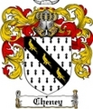 Thumbnail Cheney Family Crest  Cheney Coat of Arms