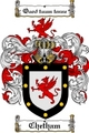 Thumbnail Chetham Family Crest  Chetham Coat of Arms