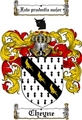 Thumbnail Cheyne Family Crest  Cheyne Coat of Arms
