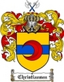 Thumbnail Christiansen Family Crest  Christiansen Coat of Arms