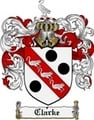Thumbnail Clarke Family Crest Clarke Coat of Arms Digital Download