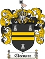 Thumbnail Cleevare Family Crest  Cleevare Coat of Arms