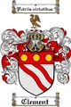 Thumbnail Clement Family Crest  Clement Coat of Arms