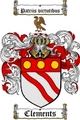 Thumbnail Clements Family Crest  Clements Coat of Arms