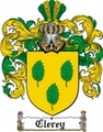Thumbnail Clerey Family Crest  Clerey Coat of Arms