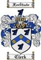 Thumbnail Clerk Family Crest  Clerk Coat of Arms