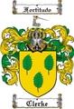 Thumbnail Clerke Family Crest  Clerke Coat of Arms