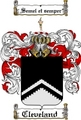 Thumbnail Cleveland Family Crest  Cleveland Coat of Arms