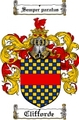 Thumbnail Clifforde Family Crest  Clifforde Coat of Arms