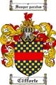 Thumbnail Clifforte Family Crest  Clifforte Coat of Arms