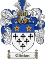 Thumbnail Clinton Family Crest Clinton Coat of Arms Digital Download