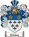 Thumbnail Clinton Family Crest  Clinton Coat of Arms