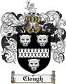Thumbnail Clough Family Crest Clough Coat of Arms Digital Download