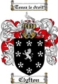 Thumbnail Clyfton Family Crest Clyfton Coat of Arms Digital Download