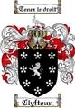 Thumbnail Clyftoun Family Crest Clyftoun Coat of Arms Digital Download