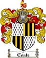 Thumbnail Coate Family Crest  Coate Coat of Arms