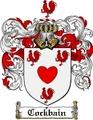 Thumbnail Cockbain Family Crest  Cockbain Coat of Arms
